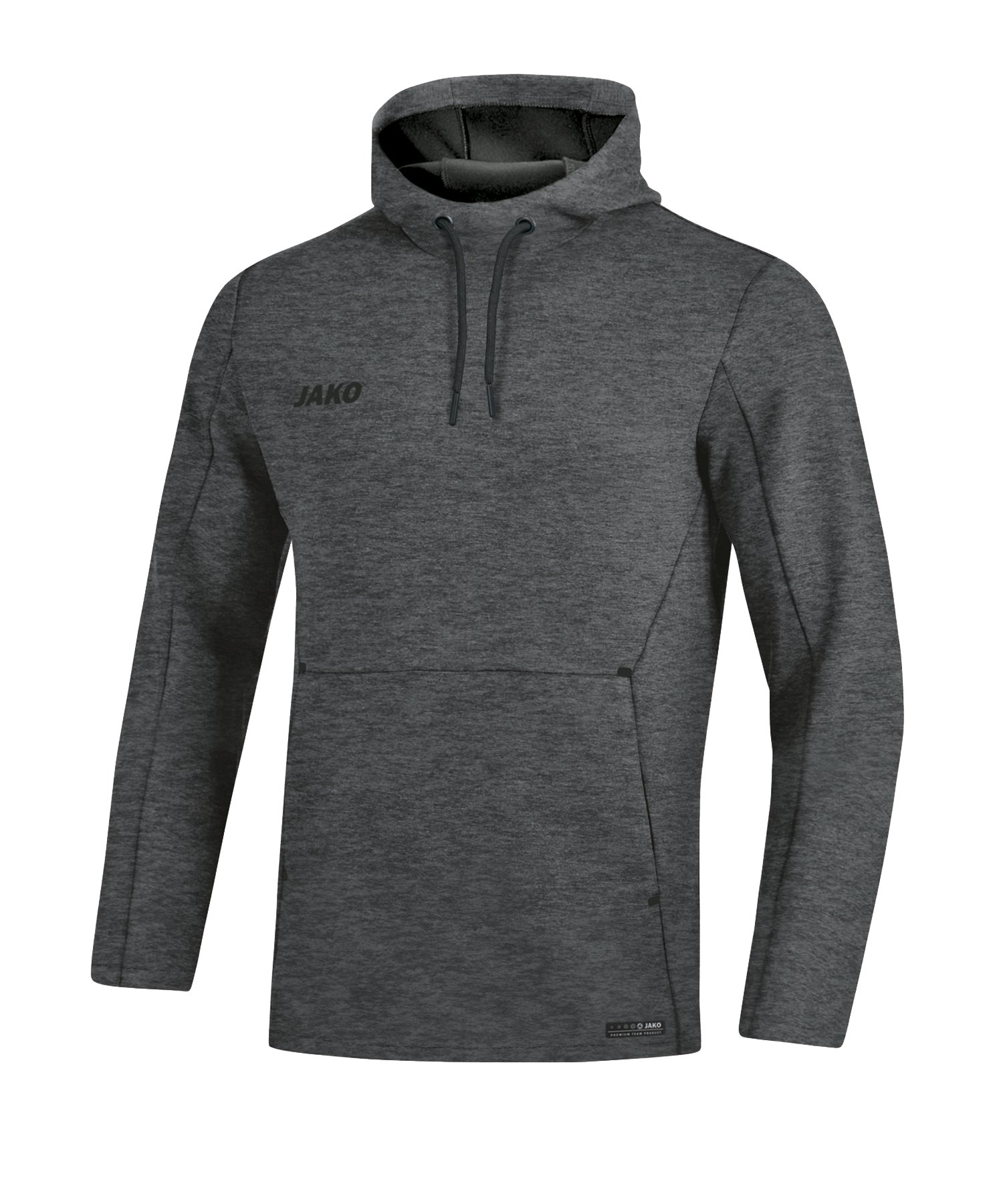 Jako Premium Basic Hoody Damen Grau F21 - grau
