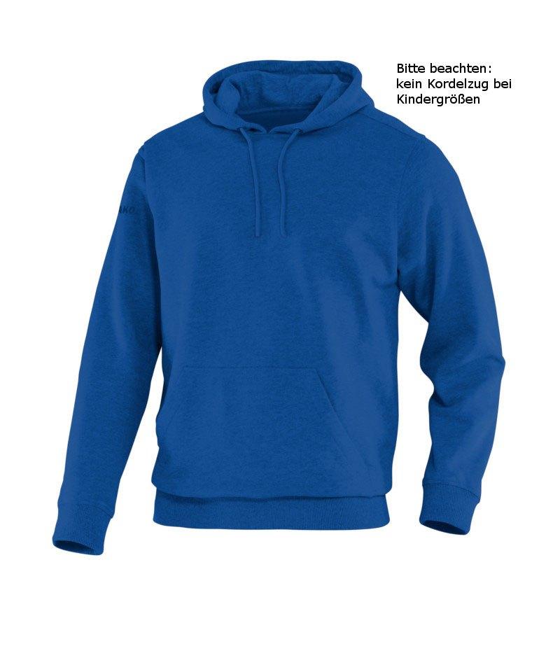 Jako Hoody Team Kapuzensweat Kinder Blau F04 - blau