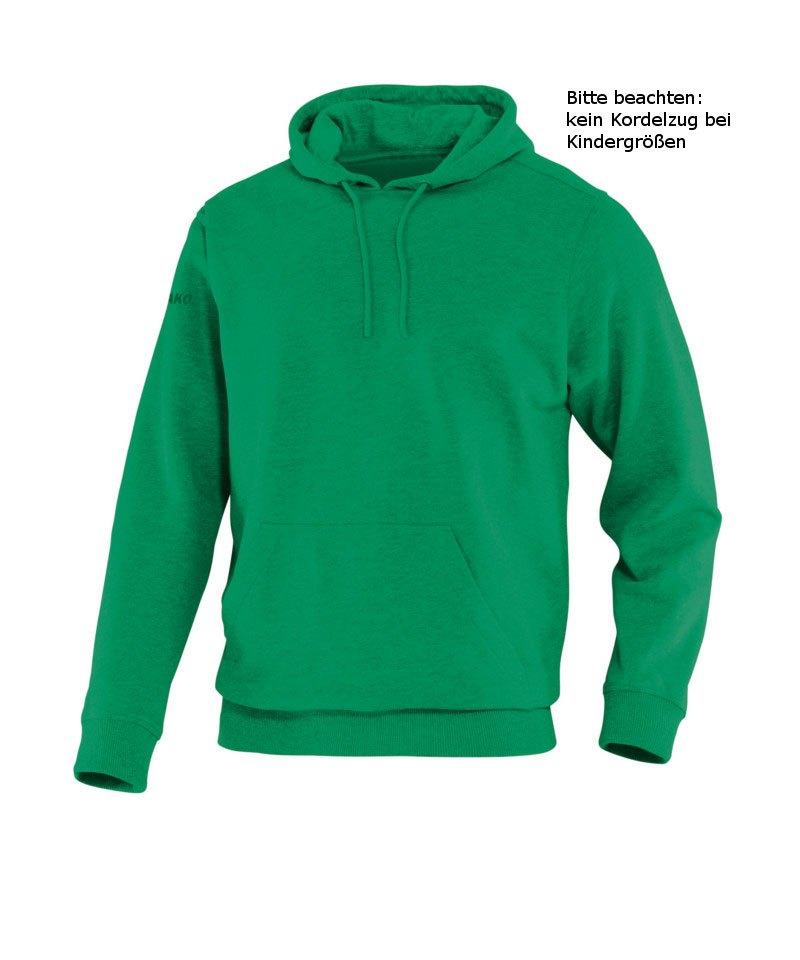 Jako Hoody Team Kapuzensweat Kinder Grün F06 - gruen