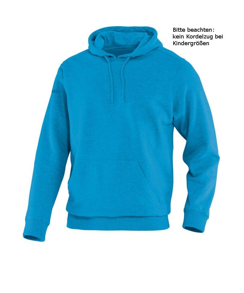 Jako Hoody Team Kapuzensweat Kinder Hellblau F89 - blau