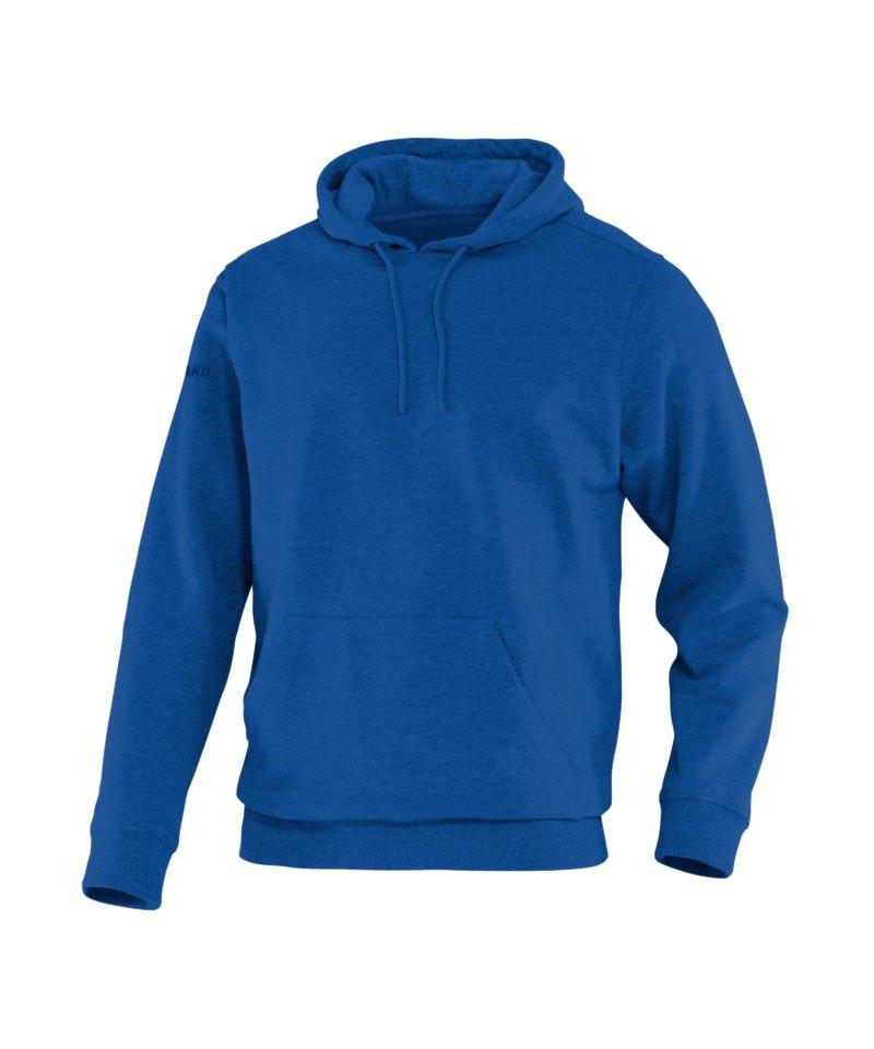 Jako Team Kapuzensweat Hoody F04 Blau - blau