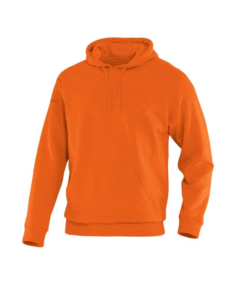 Jako Team Kapuzensweat Hoody F19 Orange - orange
