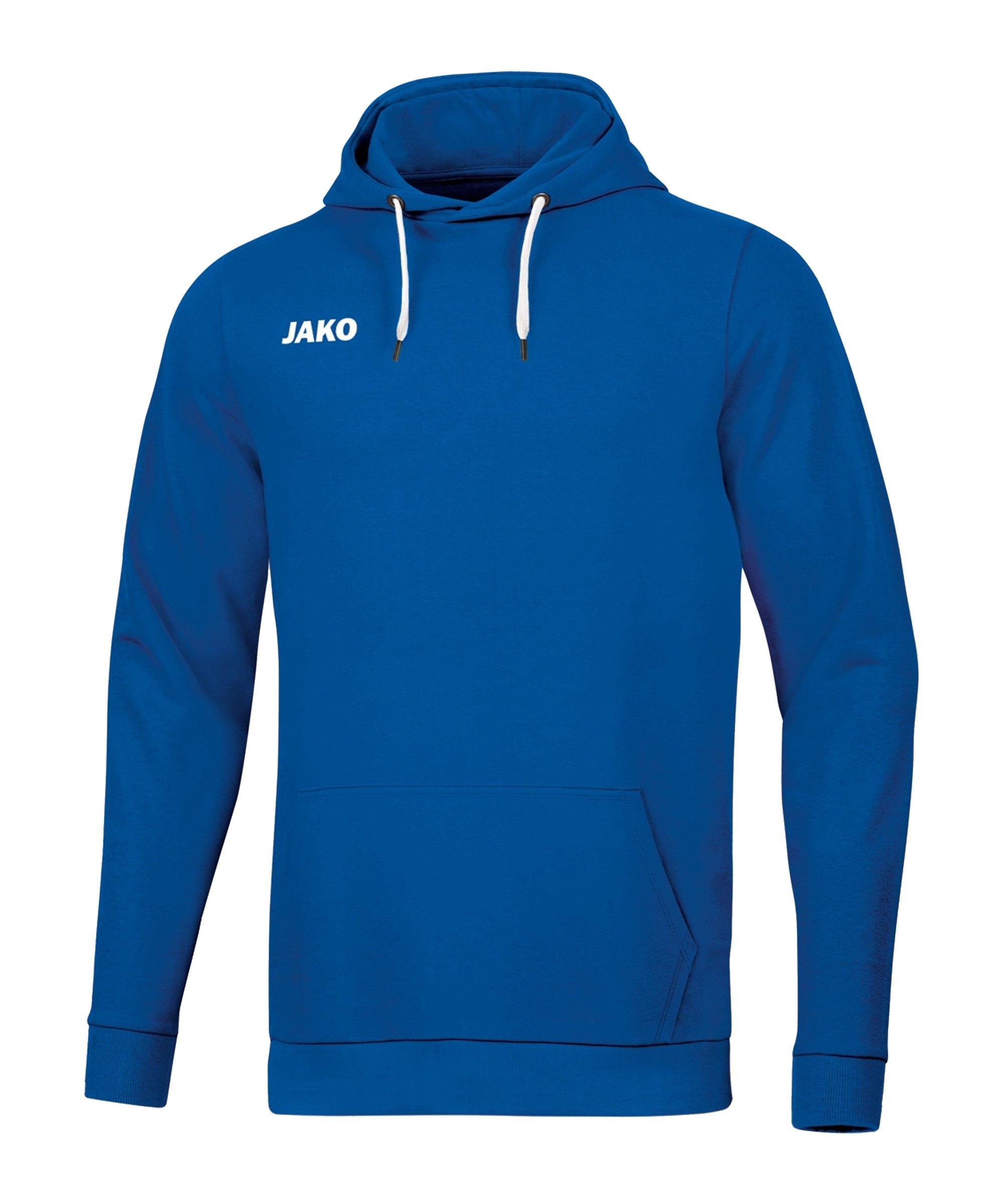 JAKO Base Hoody Kids Blau F04 - blau