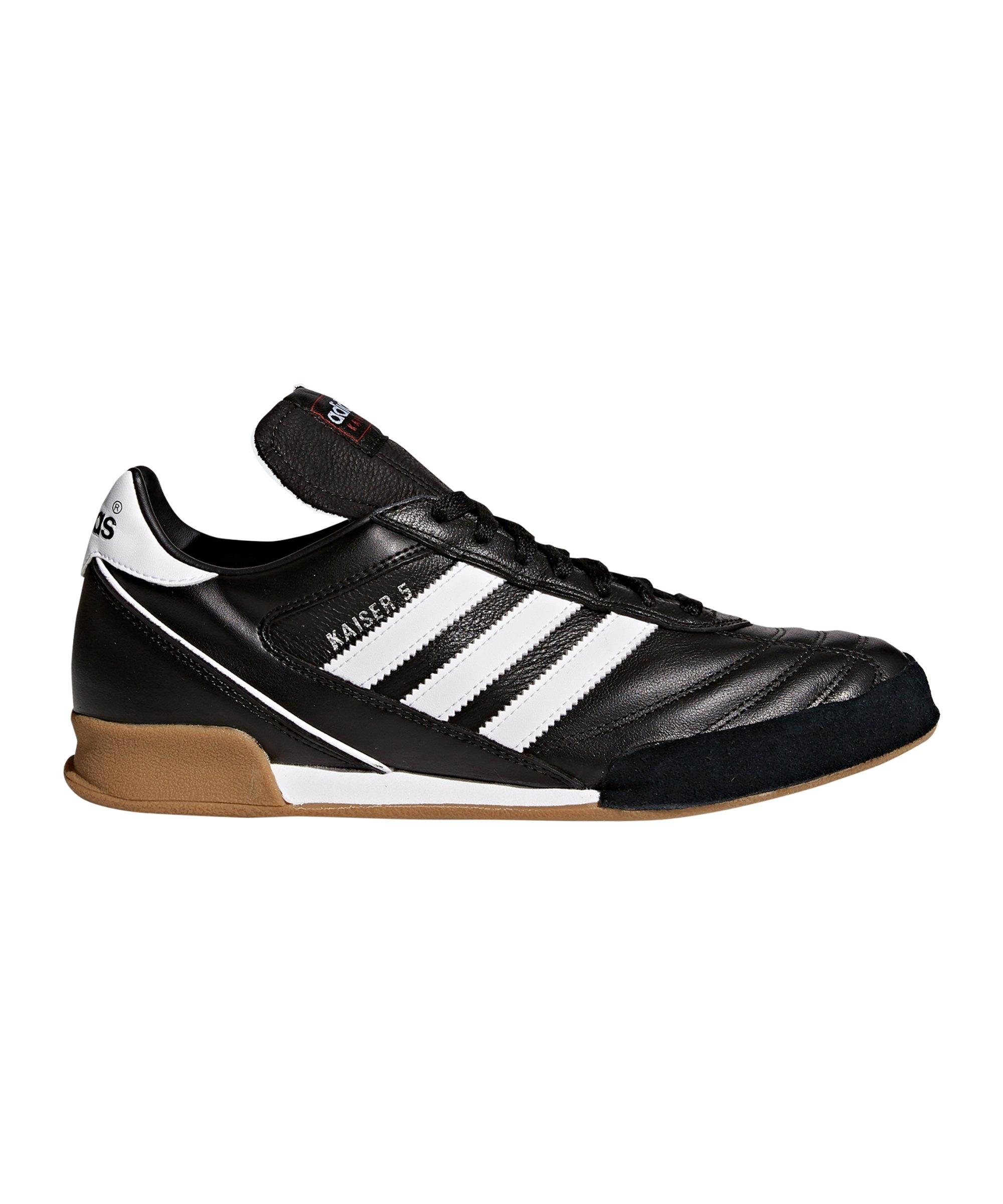 adidas Halle Kaiser 5 Goal Schwarz Weiss - schwarz