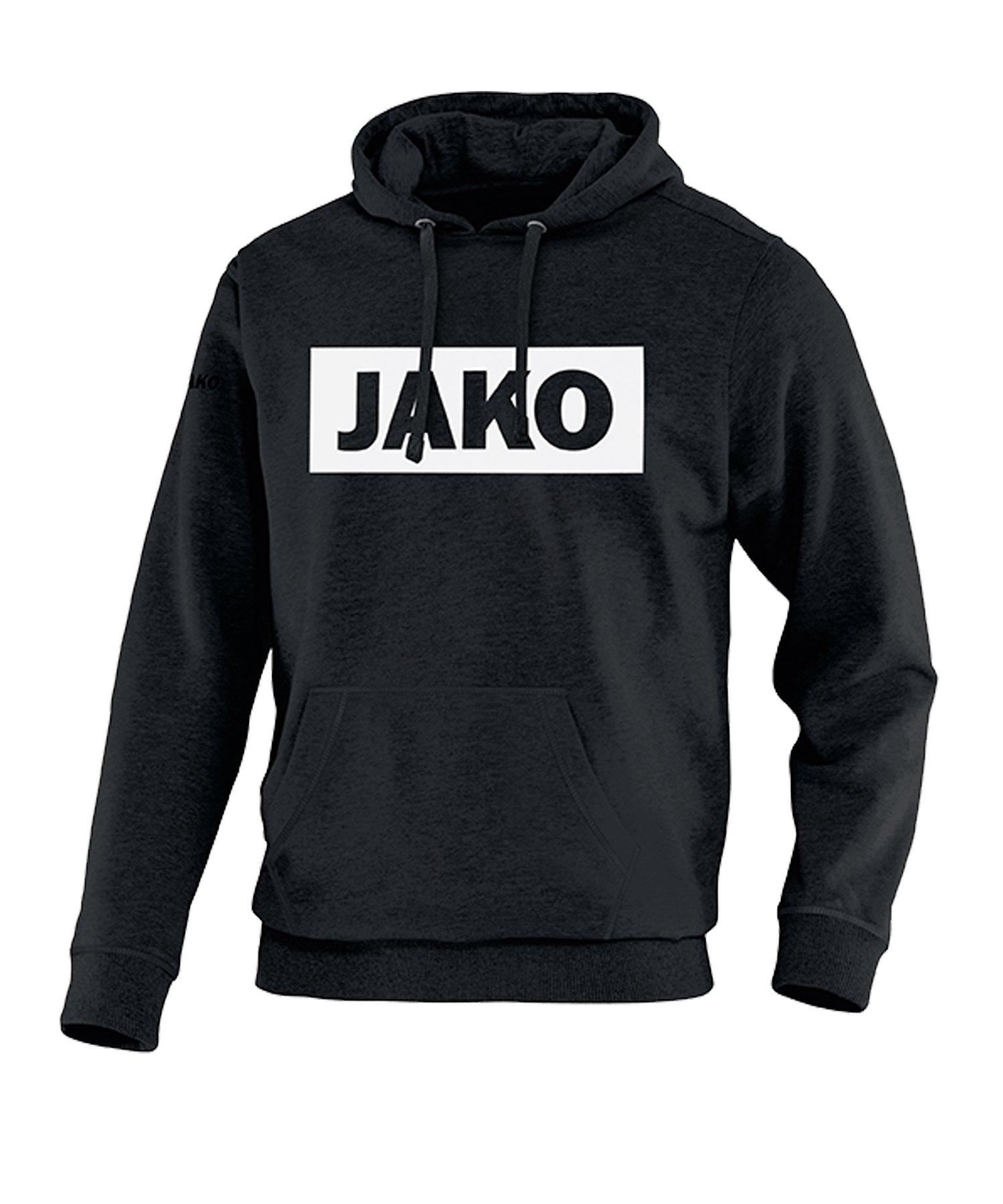 JAKO Base Hoody Schwarz F08 - schwarz