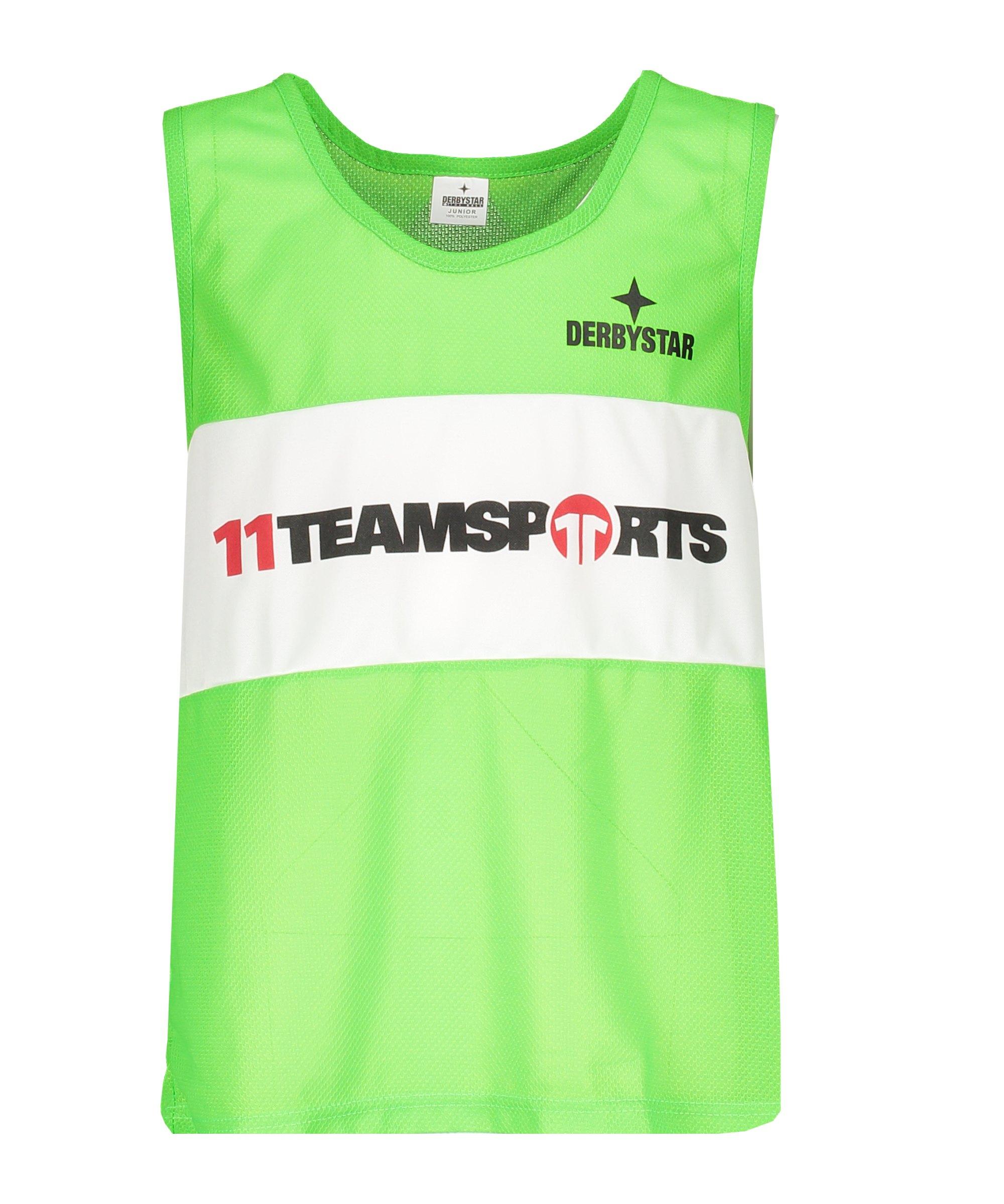 Derbystar Markierungshemdchen 11teamsports Grün - gruen