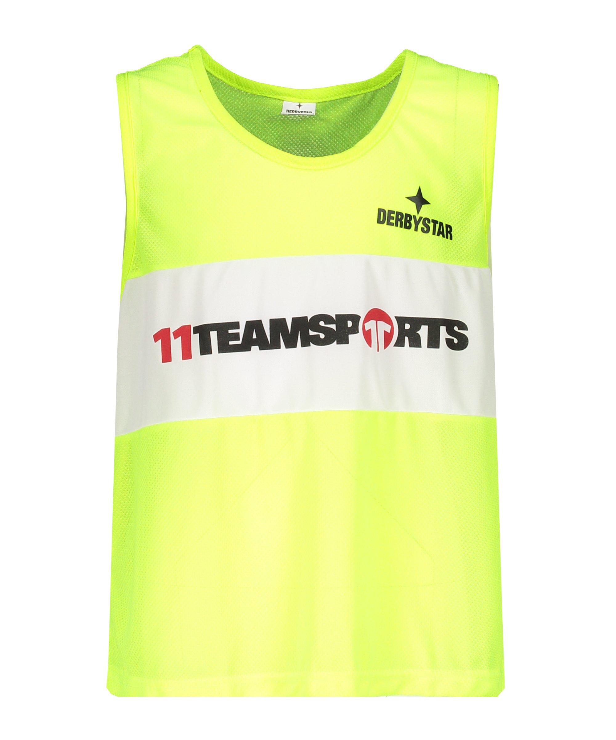 Derbystar Markierungshemdchen 11 teamsports Gelb - gelb