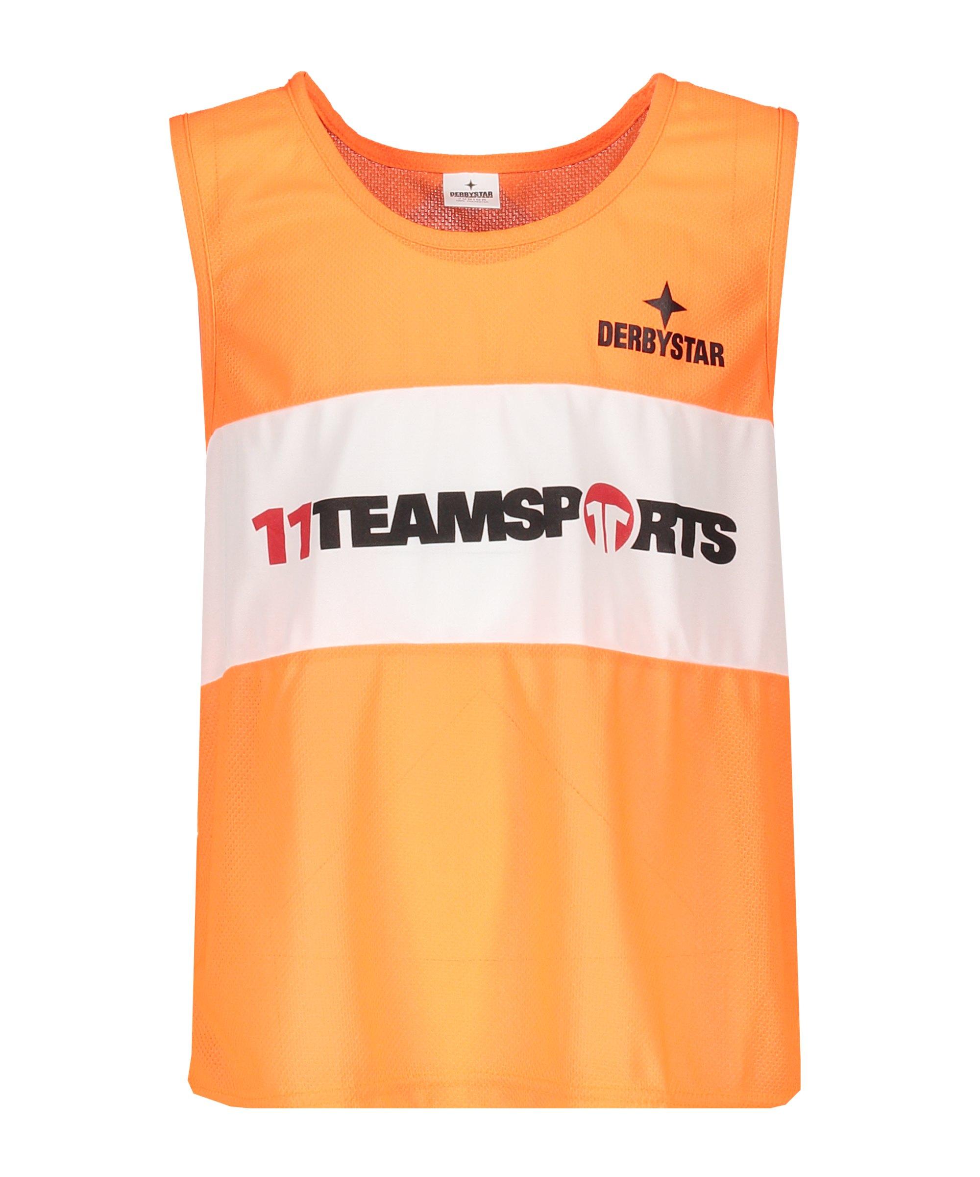 Derbystar Markierungshemdchen 11teamsports Orange - orange