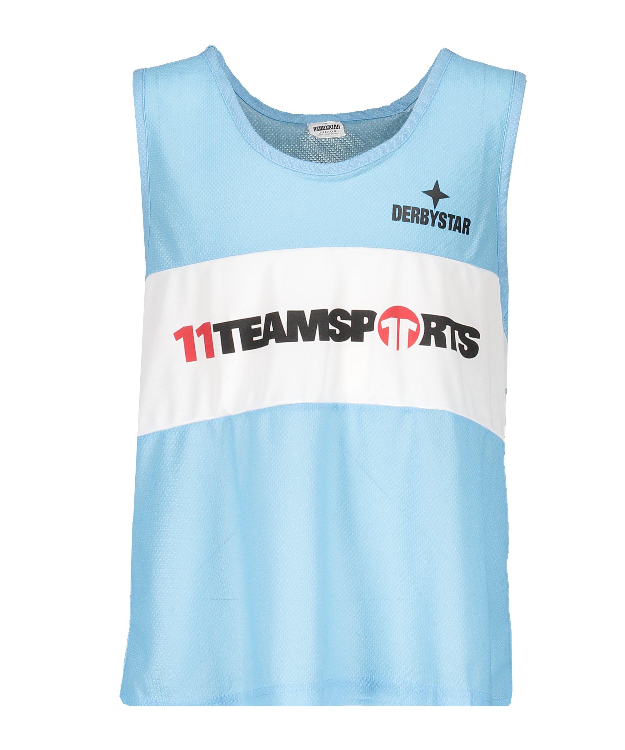 Derbystar Markierungshemdchen 11 teamsports Blau - blau