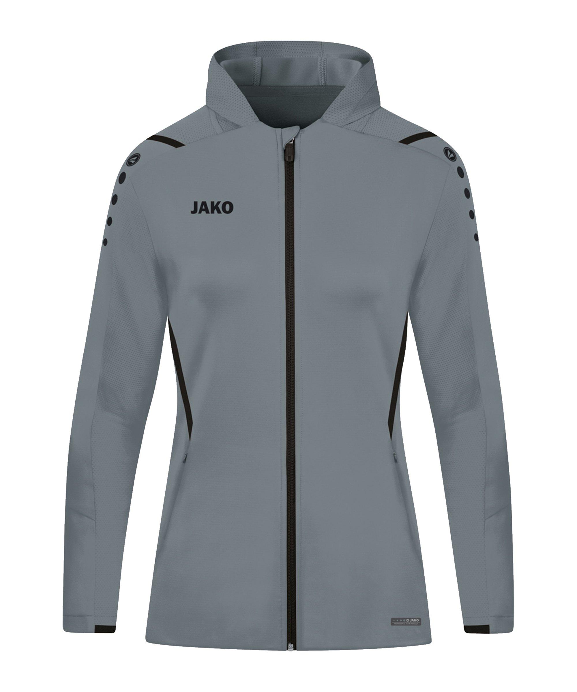 JAKO Challenge Trainingsjacke Damen Grau F841 - grau