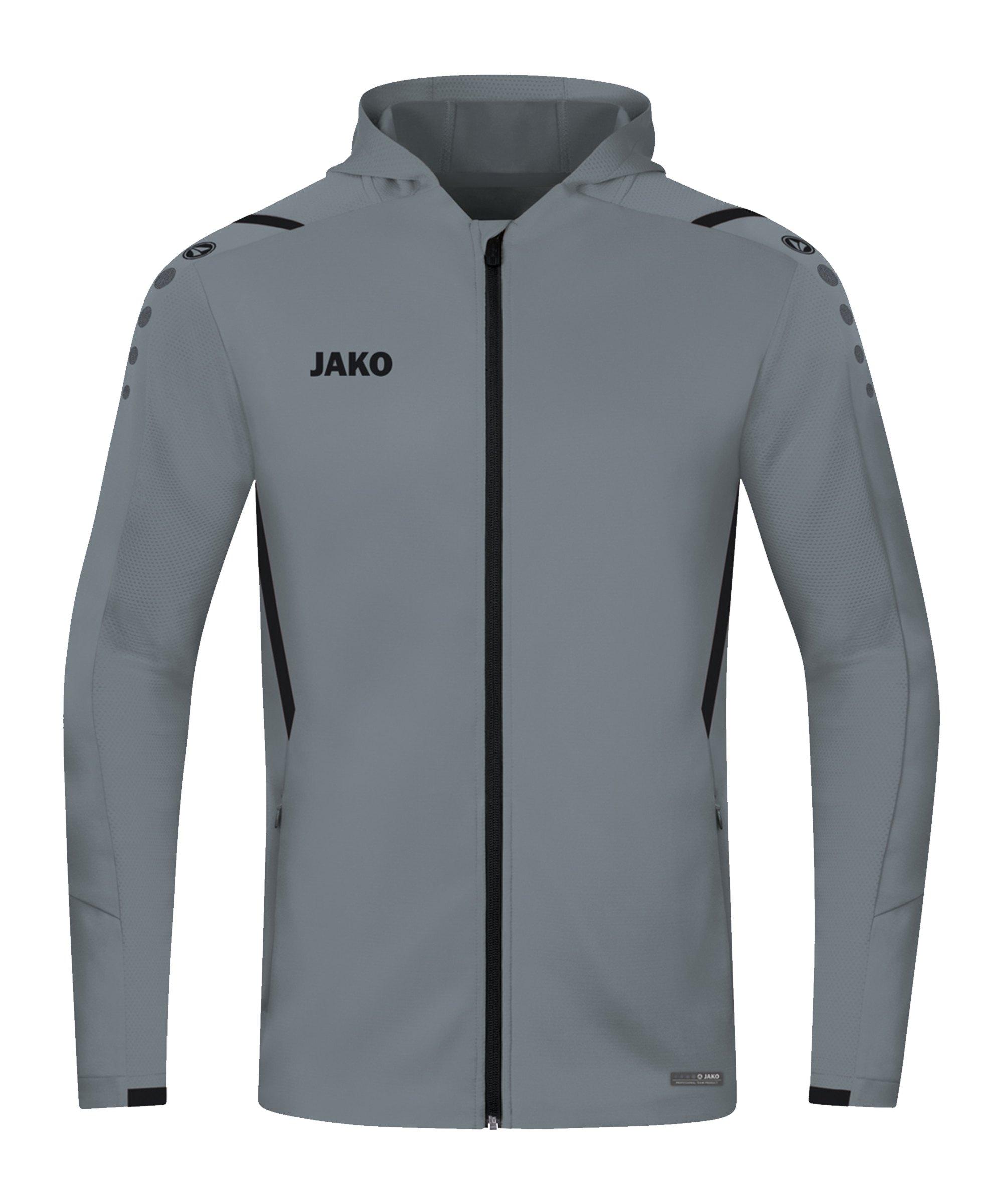 JAKO Challenge Trainingsjacke Grau F841 - grau