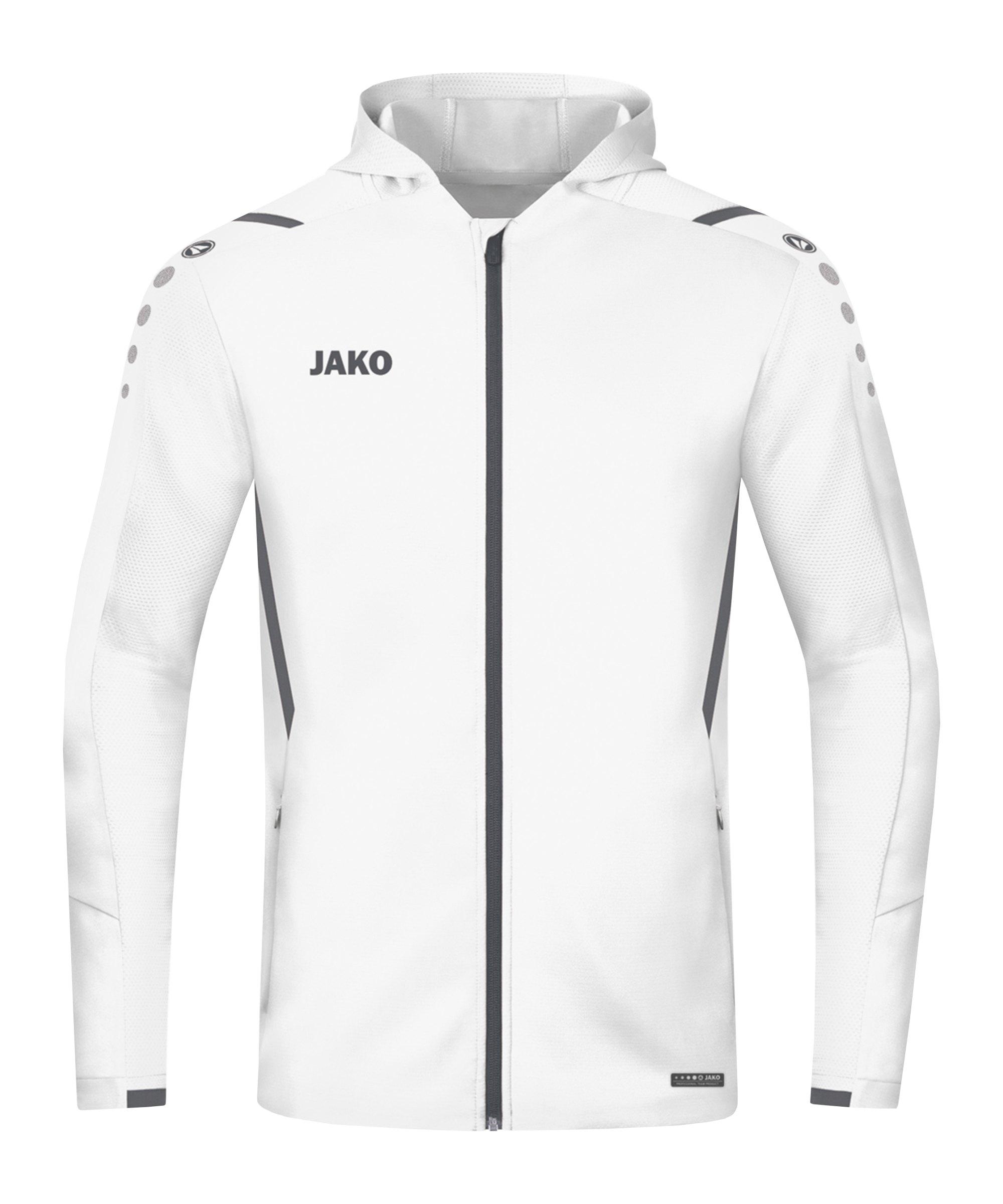 JAKO Challenge Trainingsjacke Weiss F02 - weiss