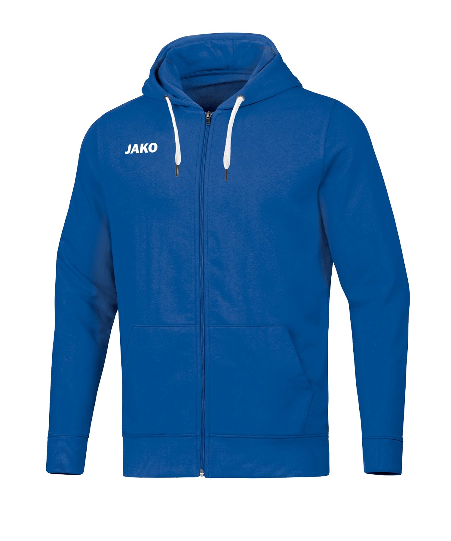 JAKO Base Kapuzenjacke Damen Blau F04 - blau