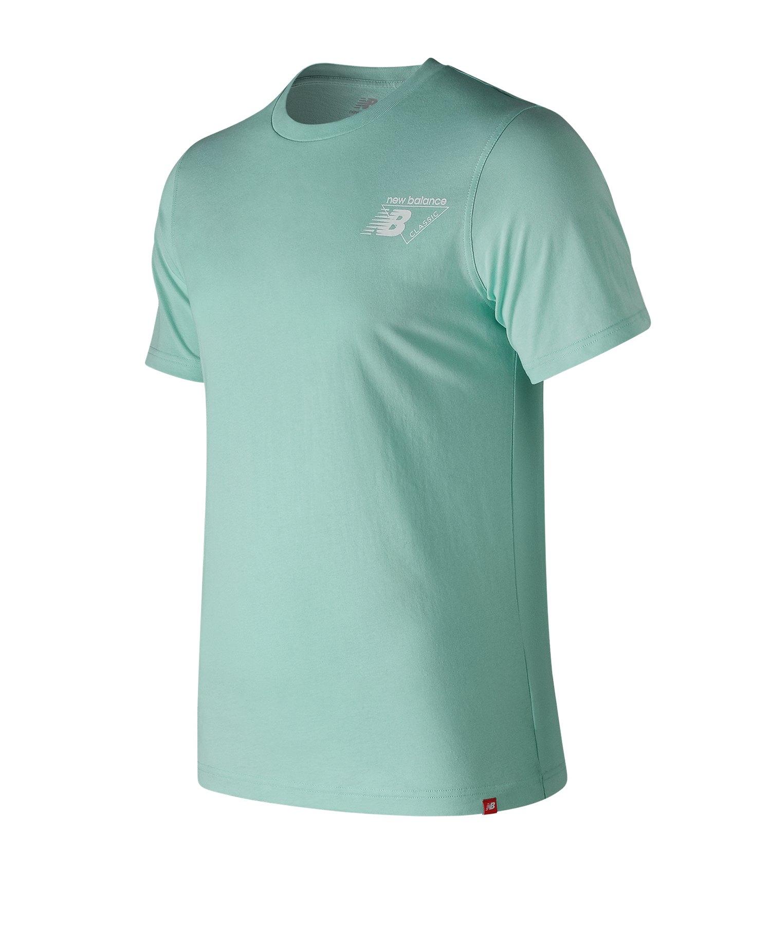 New Balance MT91579 T-Shirt Grün F53 - gruen