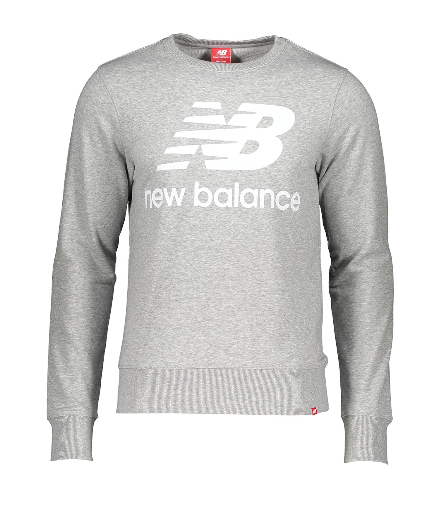 New Balance Essentials Stacked Logo SweatshirtF121 - grau