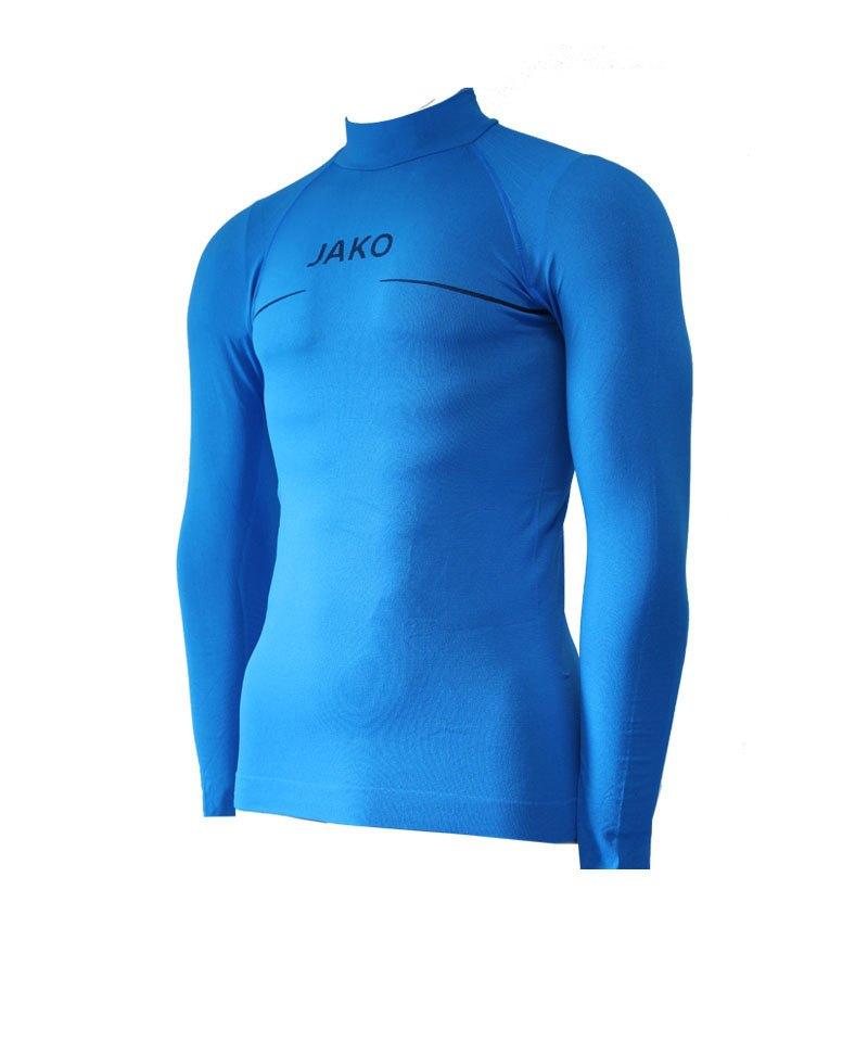 Jako Turtleneck Comfort Blau F89 - blau