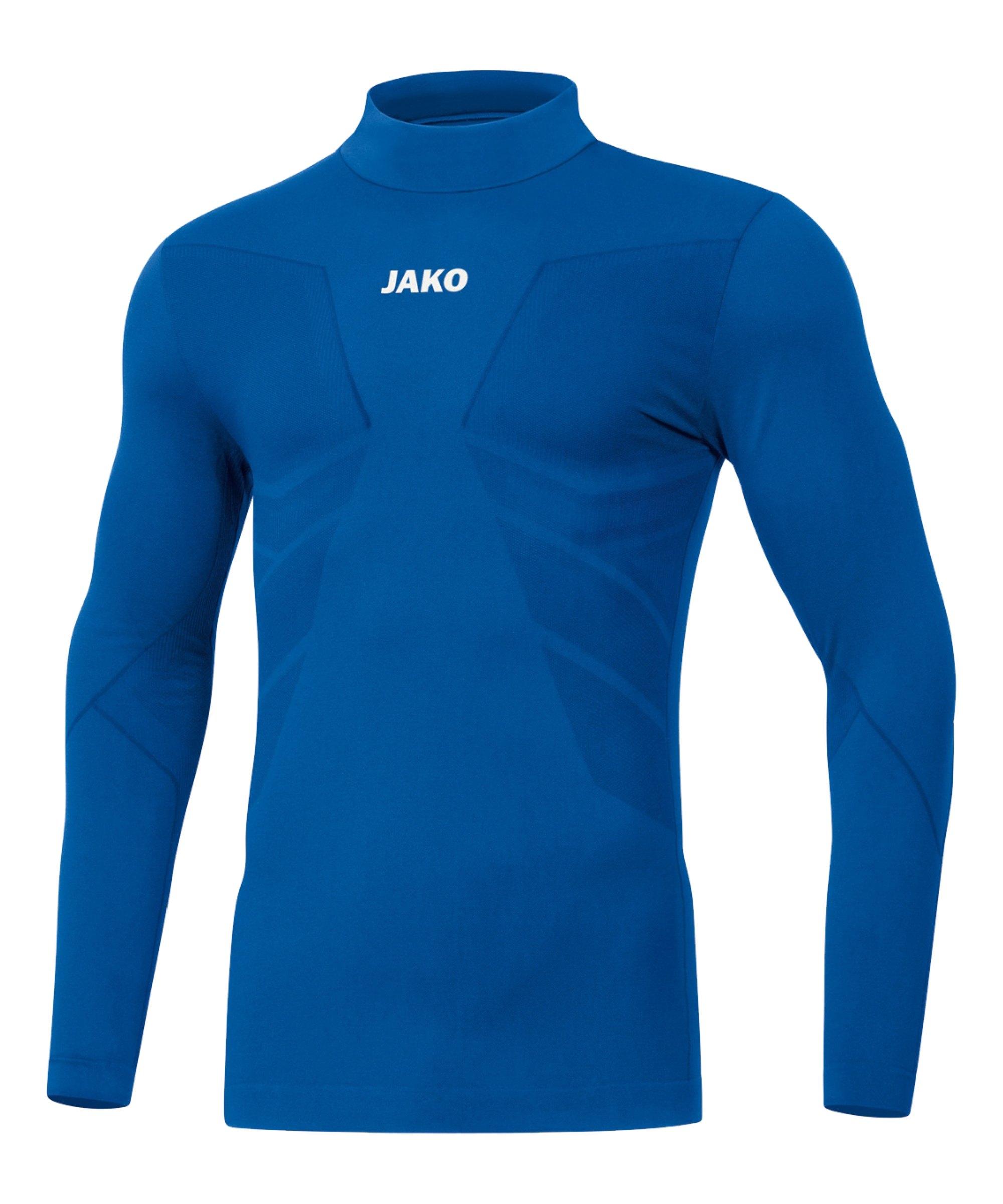 JAKO Comfort 2.0 Turtleneck Kids Blau F04 - blau