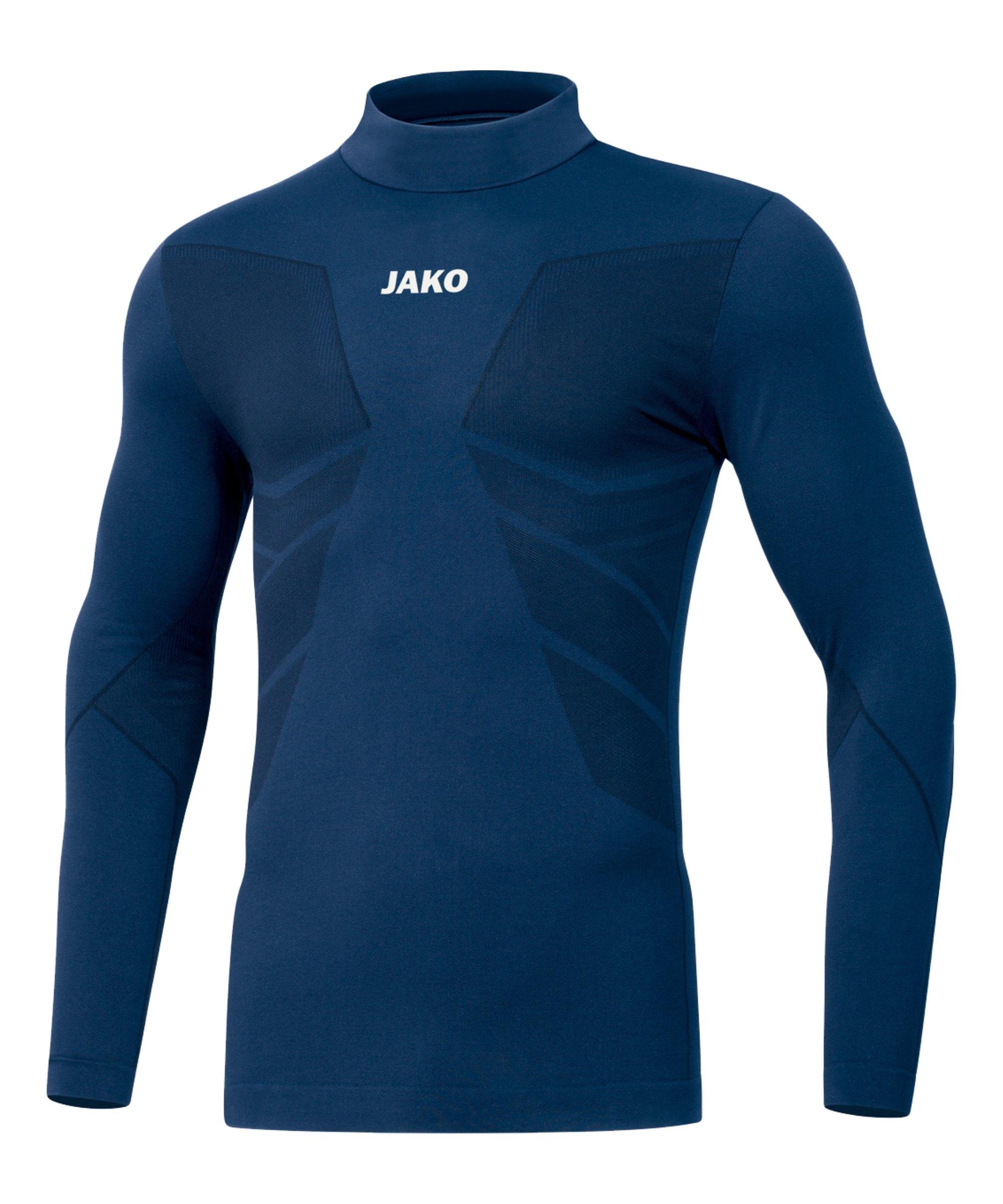 JAKO Comfort 2.0 Turtleneck Kids Blau F09 - blau