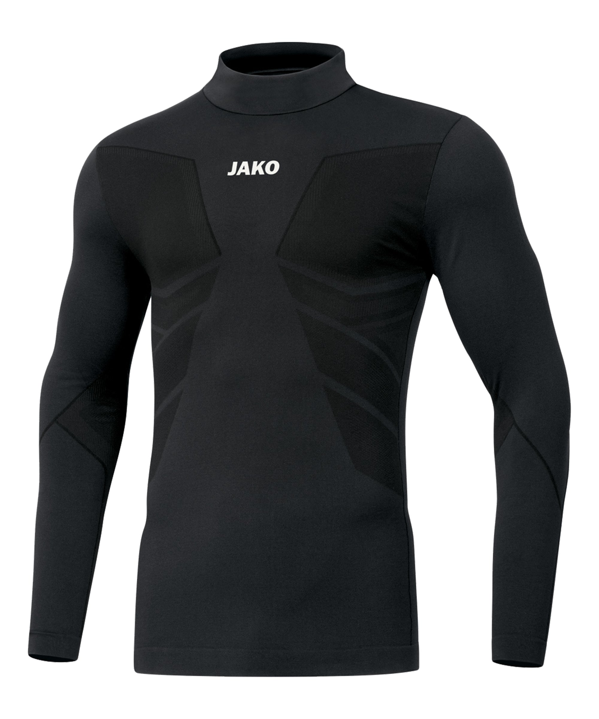 JAKO Comfort 2.0 Turtleneck Kids Schwarz F08 - schwarz