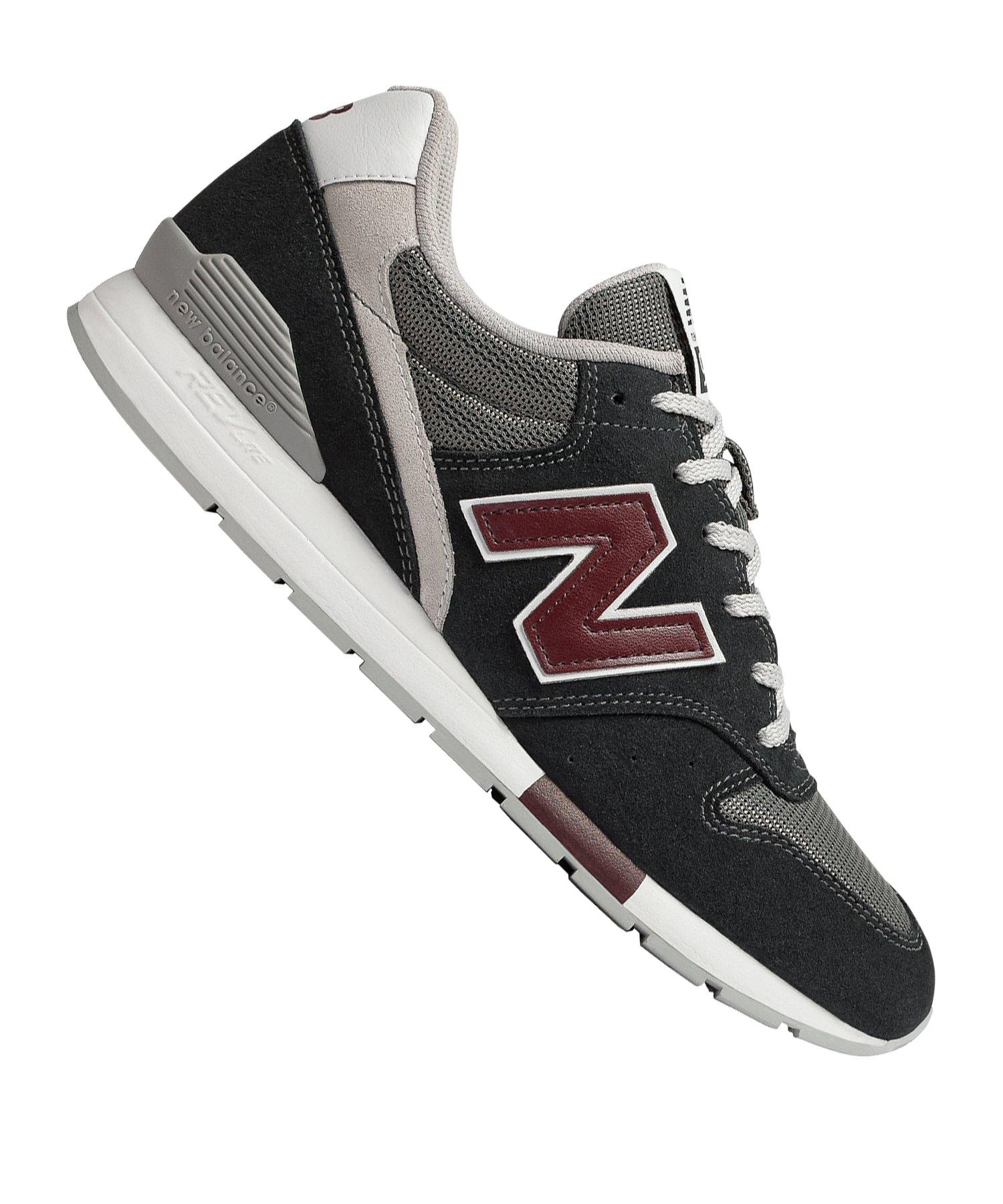 New Balance 996 Sneaker Schwarz Grau F122 - schwarz
