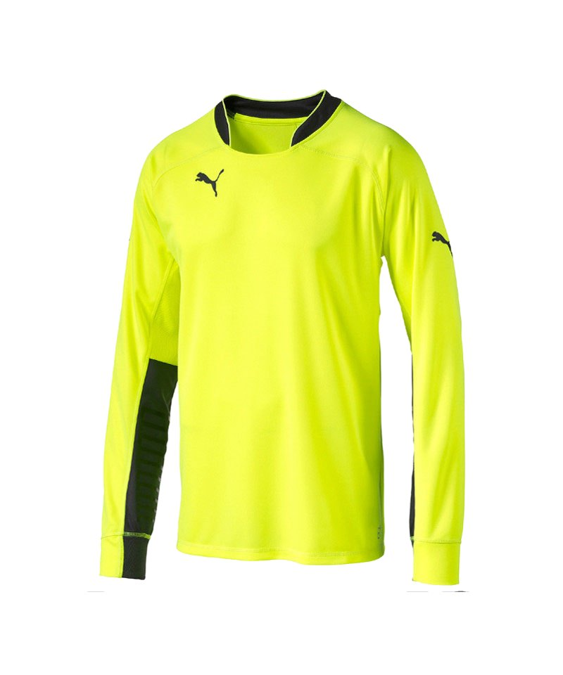 PUMA Torwarttrikot GK Shirt F42 Gelb Schwarz - gelb