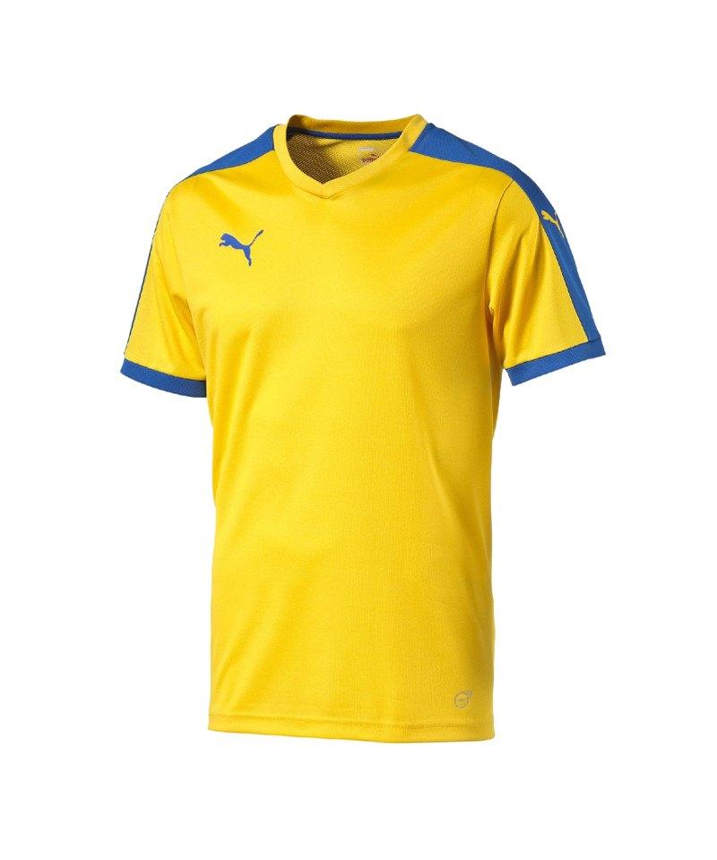 PUMA Kurzarm Trikot Pitch Kinder F20 Gelb - gelb