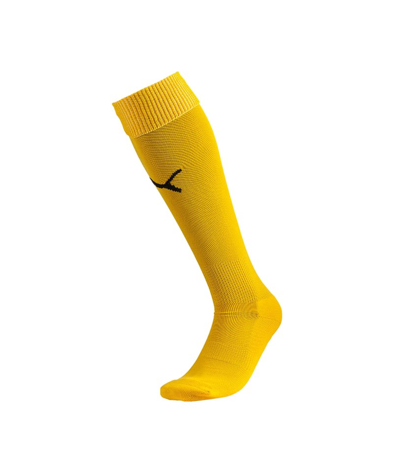 PUMA Stutzenstrumpf Socks Team II F07 Gelb Schwarz - gelb