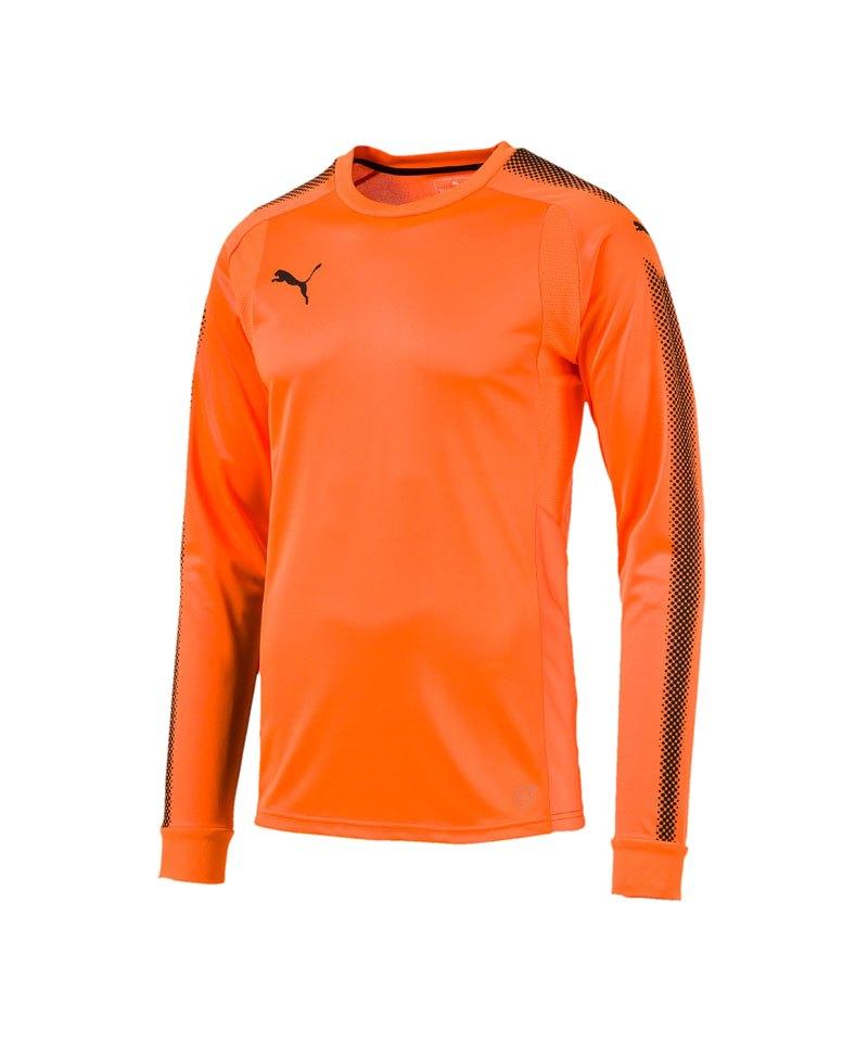 PUMA Torwarttrikot GK Shirt Orange Schwarz F44 - orange