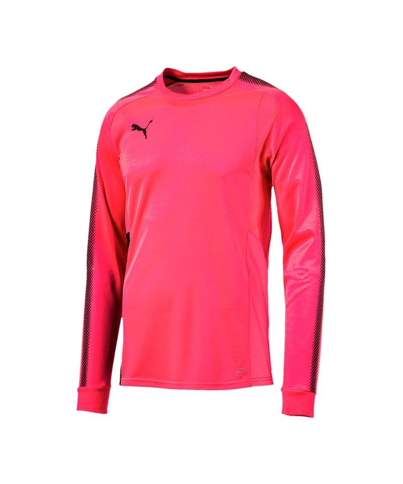 PUMA Torwarttrikot GK Shirt Rot Schwarz F47 - pink