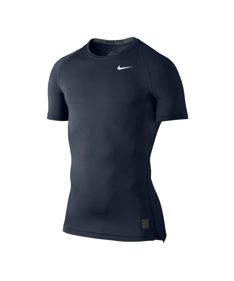 Nike Pro Shortsleeve Shirt Cool Compression F451 - blau