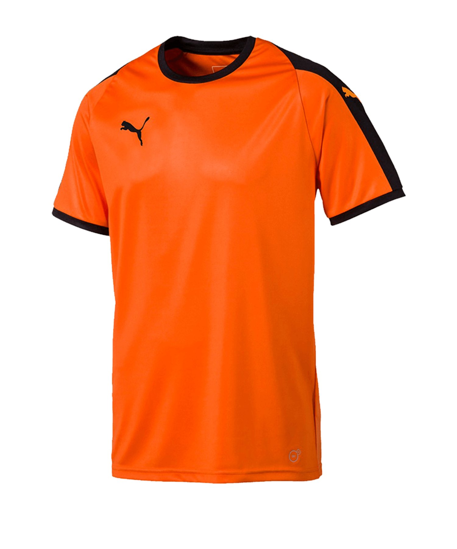 PUMA LIGA Trikot kurzarm Orange Schwarz F08 - orange