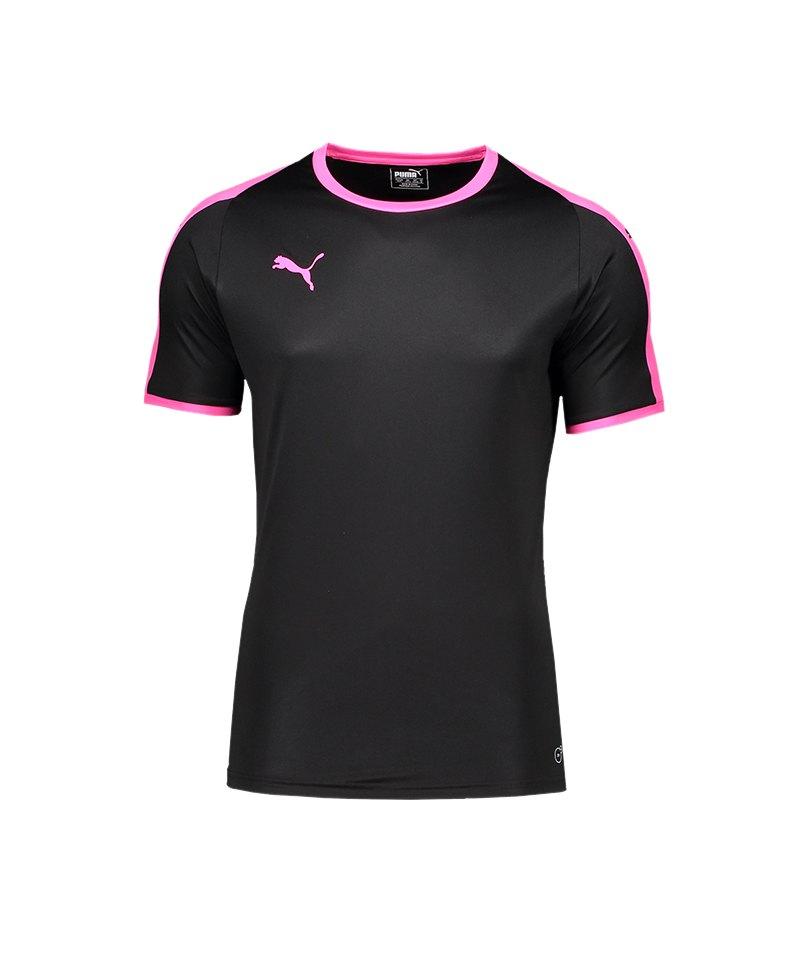 PUMA LIGA Trikot kurzarm Schwarz Pink F41 - schwarz