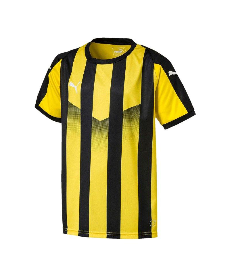 PUMA LIGA Striped Trikot kurzarm Kids Gelb F07 - gelb