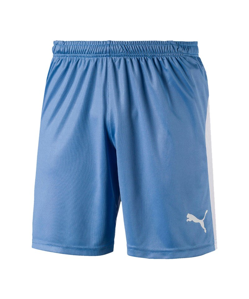 PUMA LIGA Short Blau Weiss F18 - blau