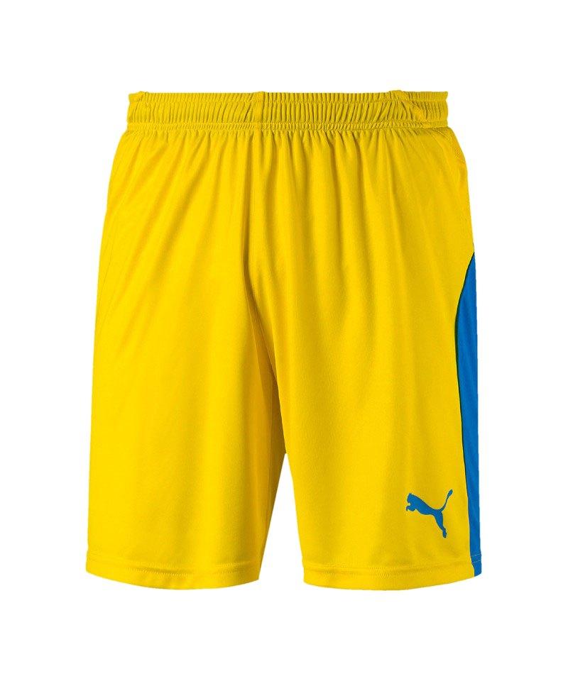 PUMA LIGA Short Gelb Blau F17 - gelb