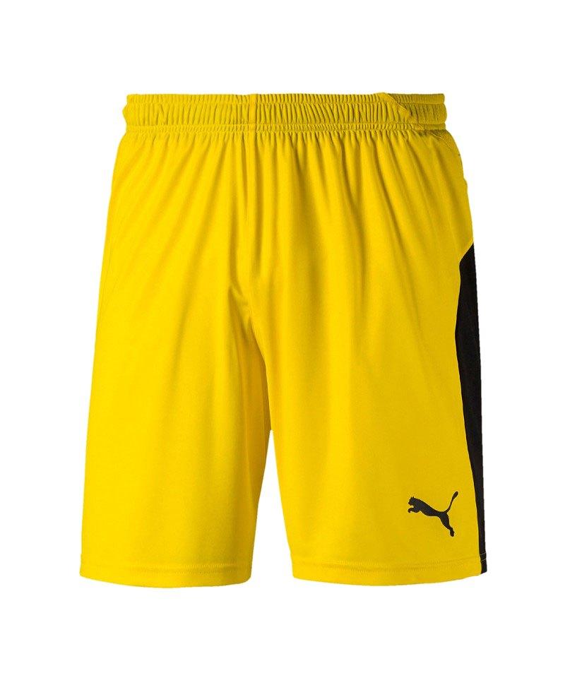 PUMA LIGA Short Gelb Schwarz F07 - gelb