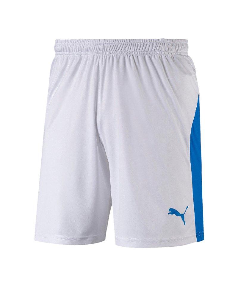 PUMA LIGA Short Weiss Blau F12 - weiss