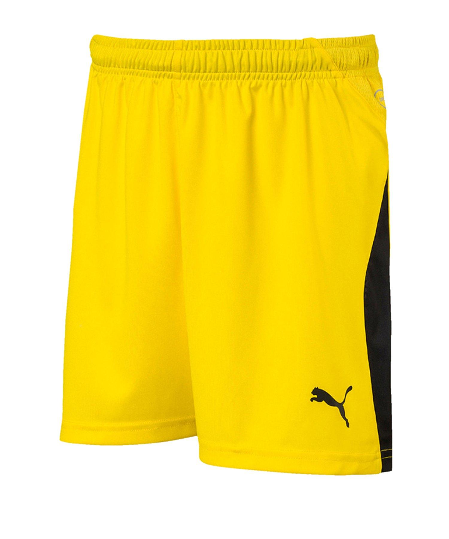 PUMA LIGA Short Kids Gelb Schwarz F07 - gelb