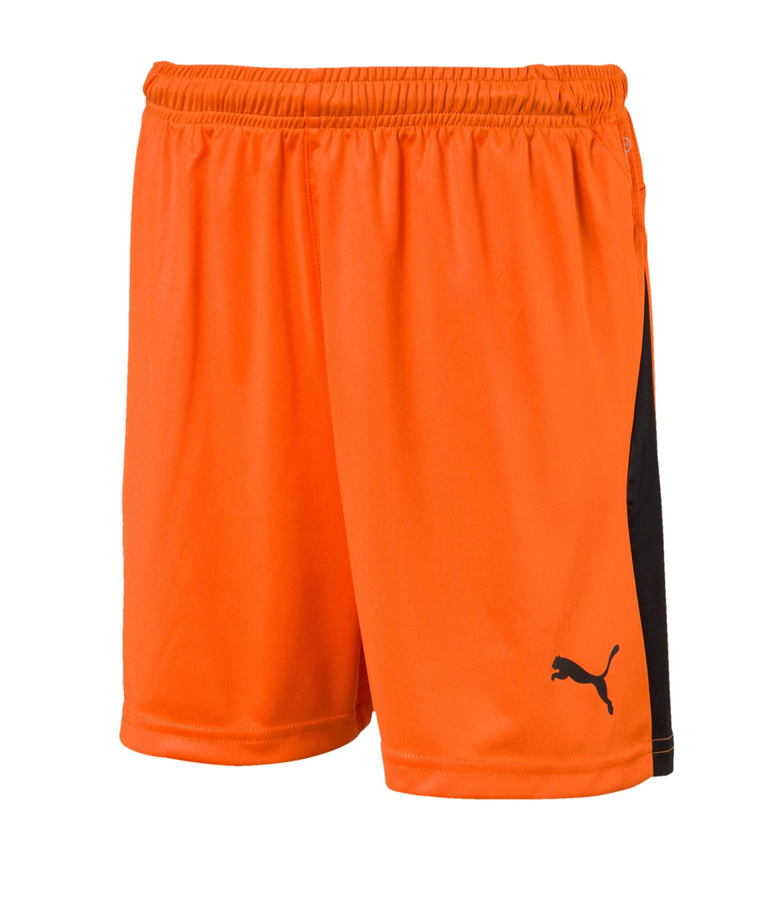 PUMA LIGA Short Kids Orange F08 - weiss