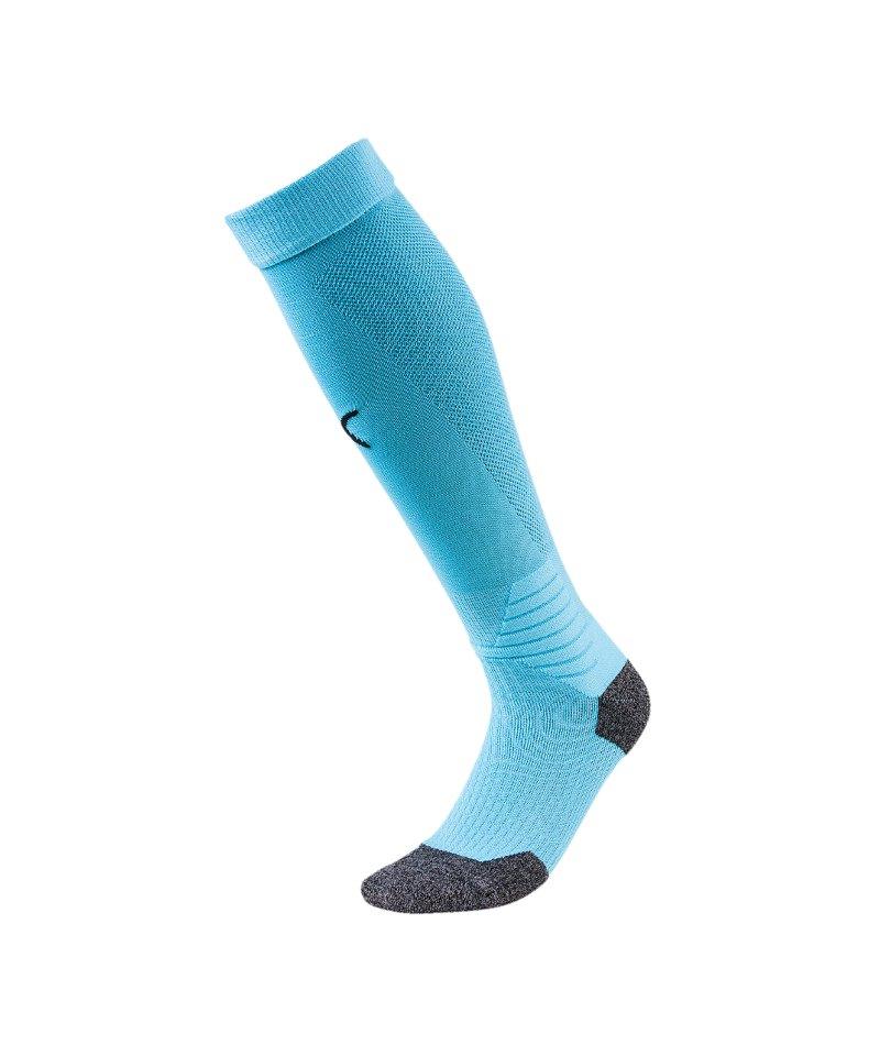 PUMA LIGA Socks Stutzenstrumpf Blau Schwarz F20 - blau