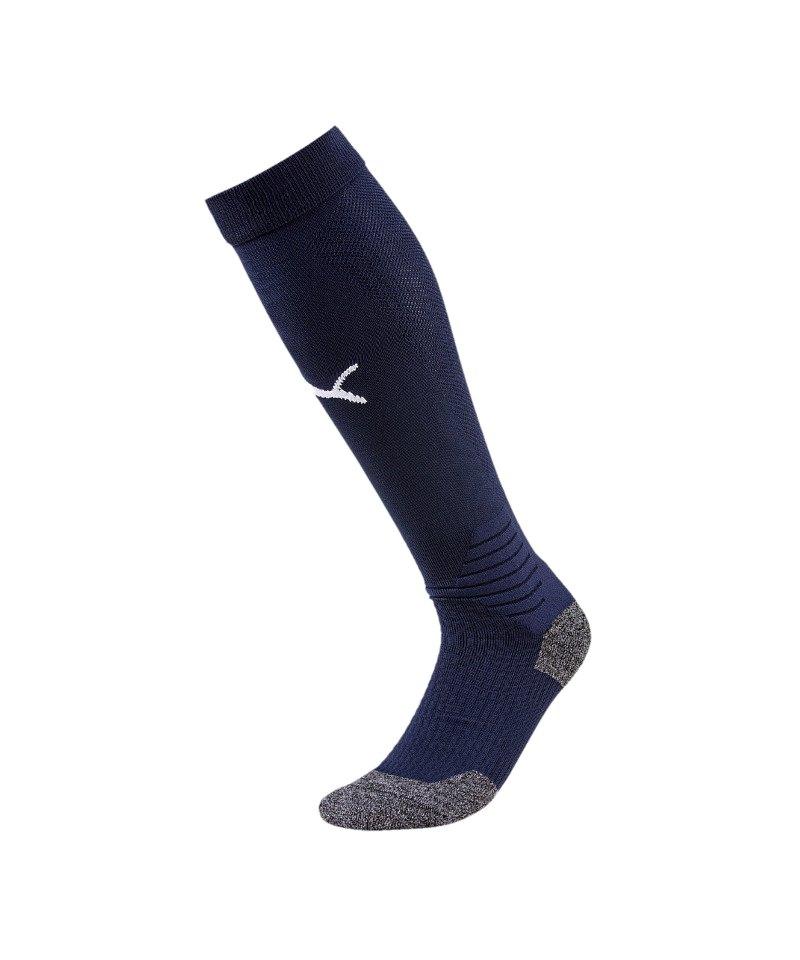 PUMA LIGA Socks Stutzenstrumpf Blau Weiss F06 - blau