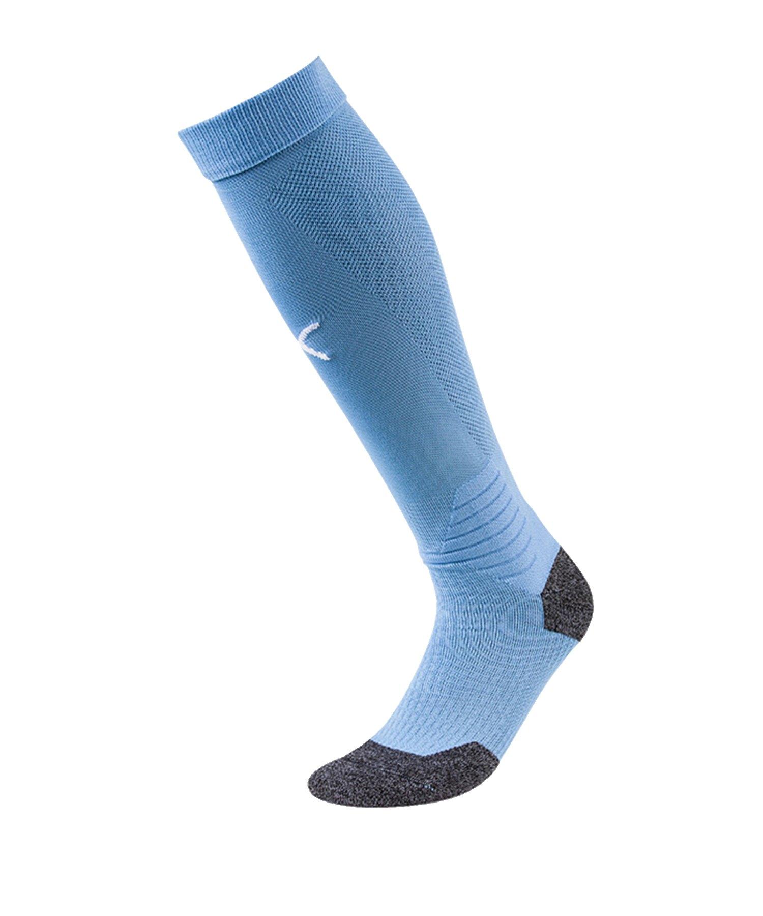 PUMA LIGA Socks Stutzenstrumpf Blau Weiss F18 - blau