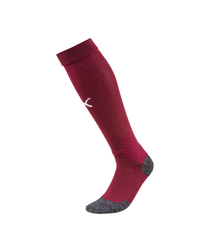 PUMA LIGA Socks Stutzenstrumpf Rot Weiss F09 - rot