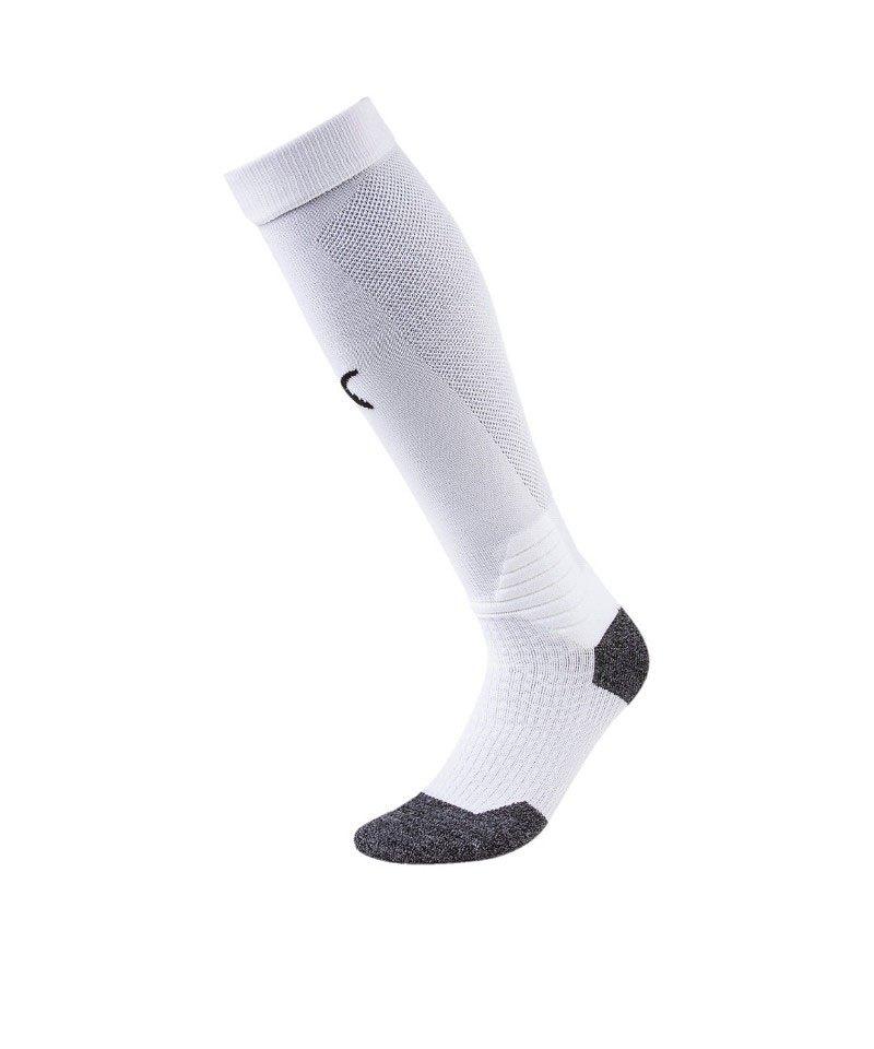 PUMA LIGA Socks Stutzenstrumpf Weiss Schwarz F04 - weiss
