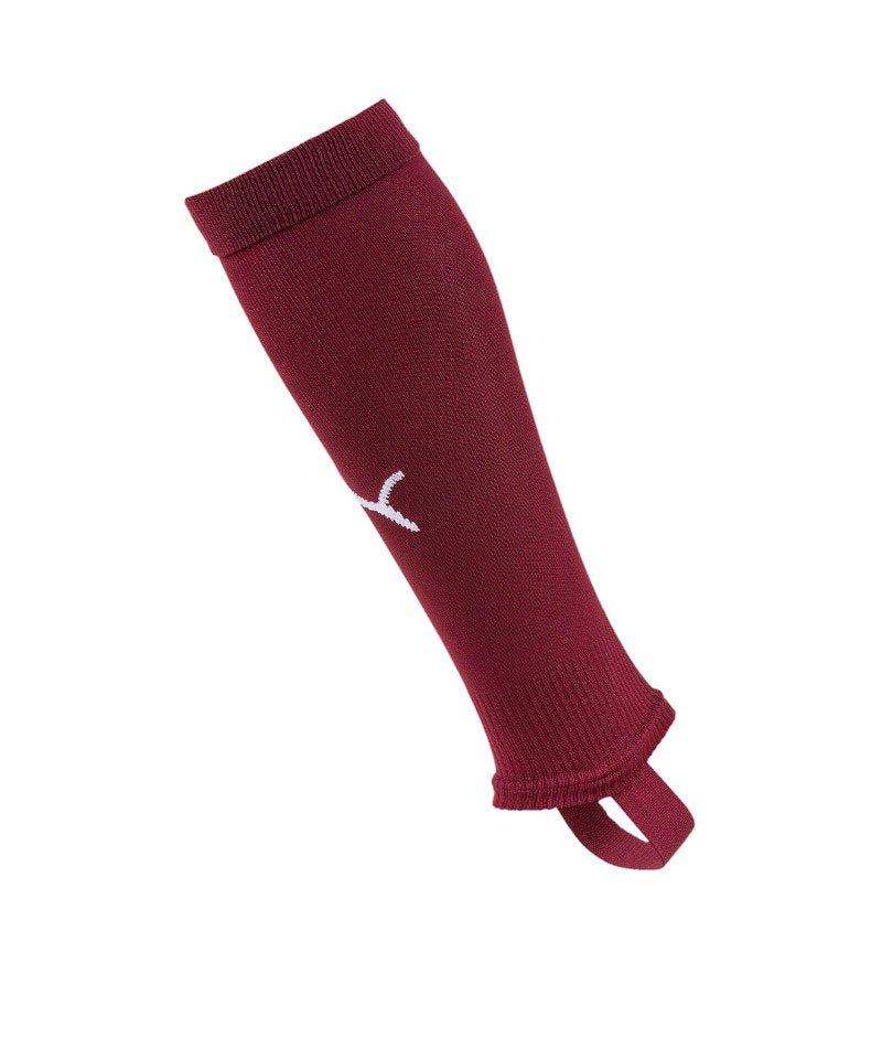 PUMA LIGA Stirrup Socks Core Stegstutzen Rot F09 - rot