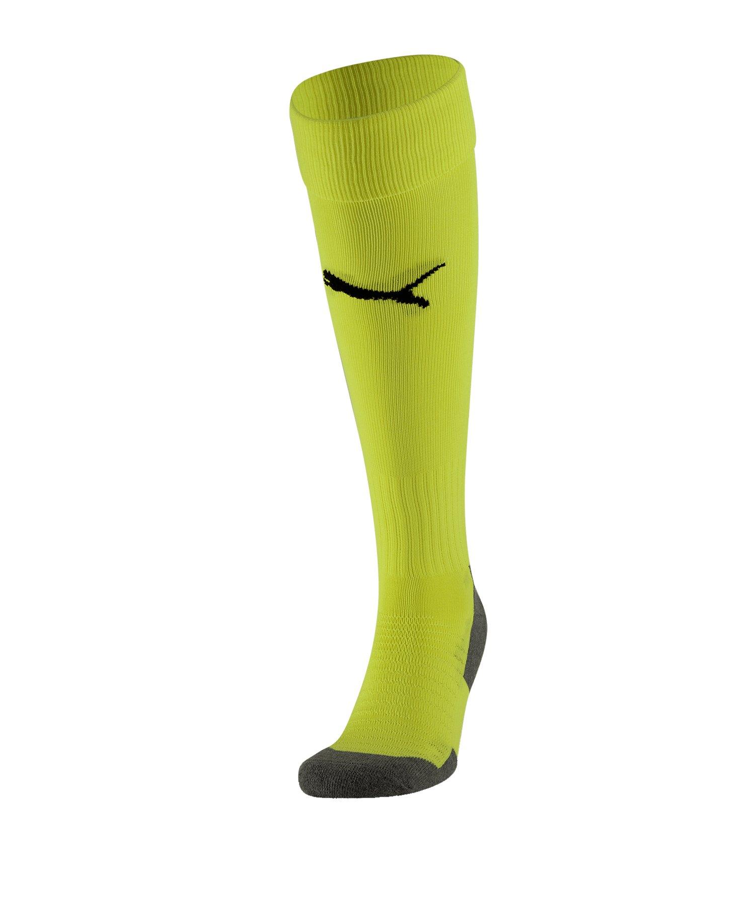 PUMA LIGA Socks Core Stutzenstrumpf Gelb F33 - gelb