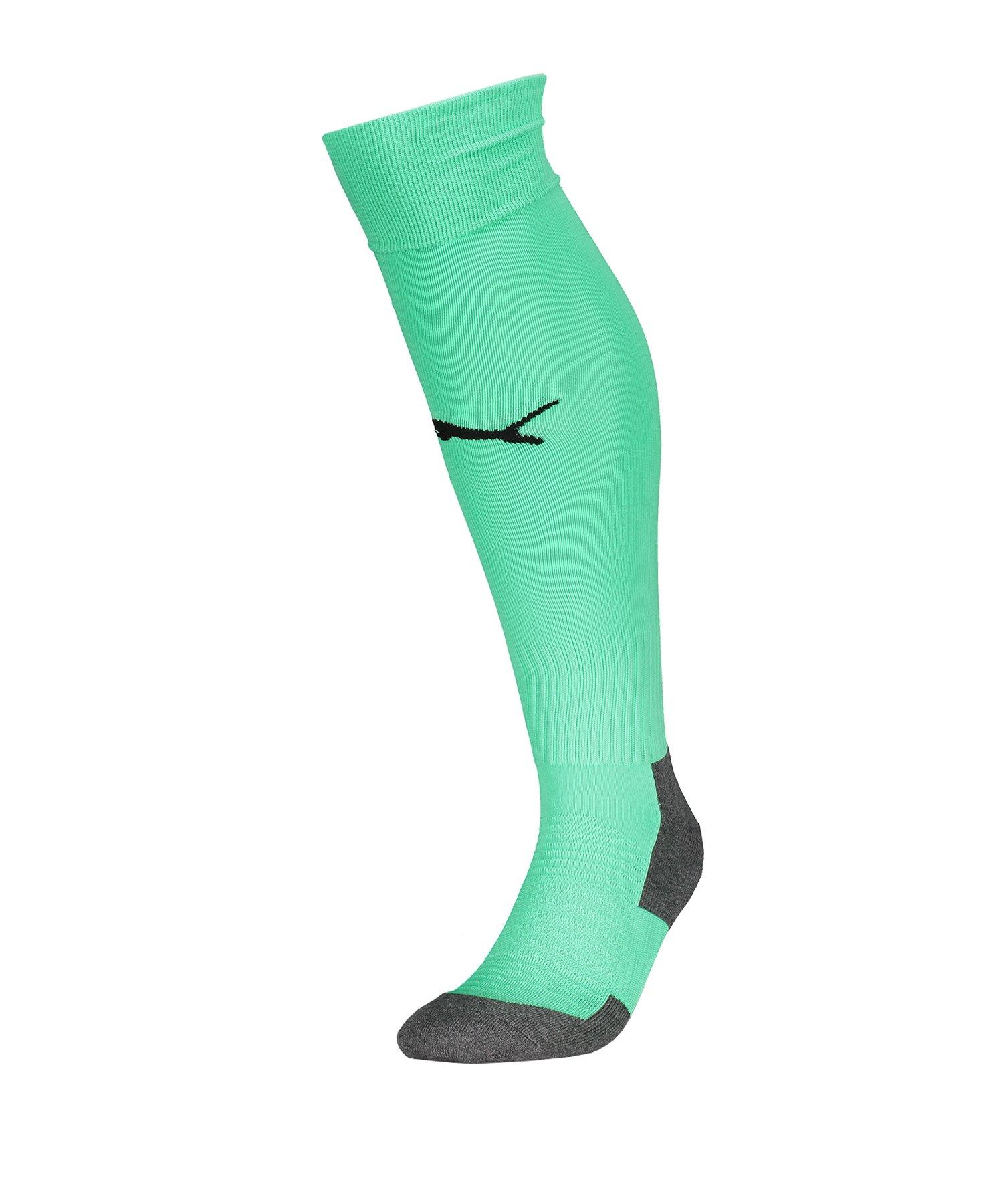 PUMA LIGA Socks Core Stutzenstrumpf Grün F28 - Gruen