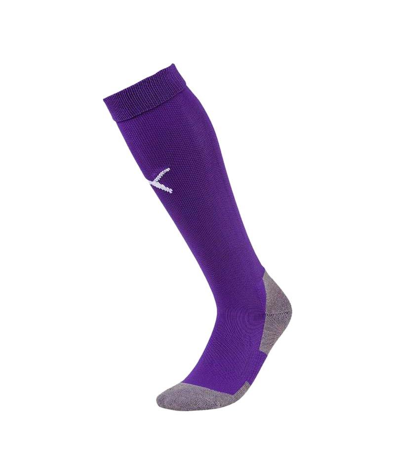 PUMA LIGA Socks Core Stutzenstrumpf Lila Weiss F10 - lila