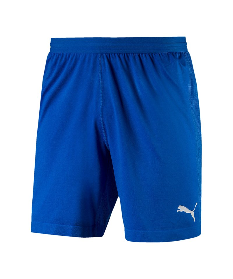 PUMA FINAL evoKNIT Short Blau Weiss F02 - blau