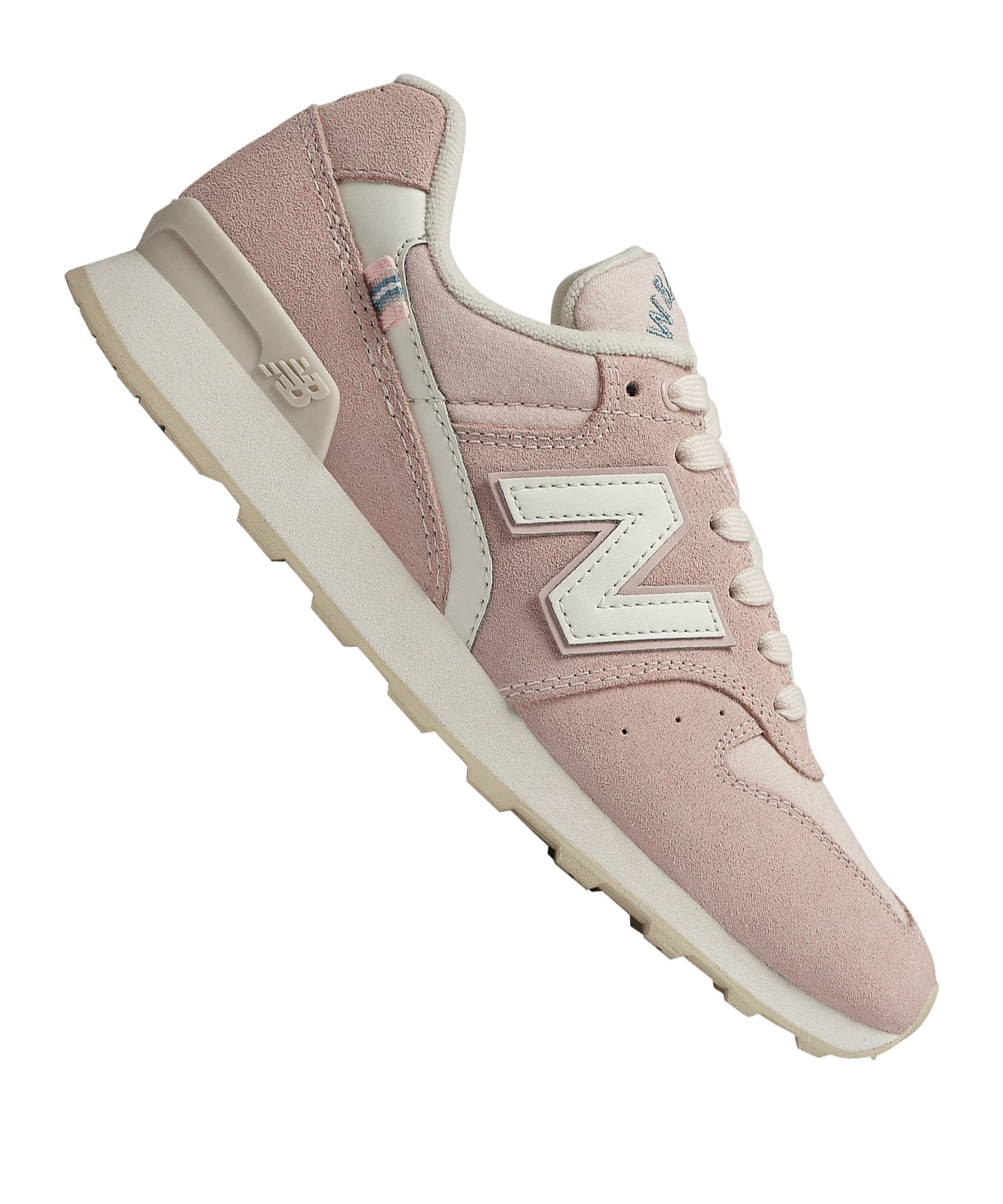 New Balance Suede 996 Sneaker Damen Rosa F13 - rosa